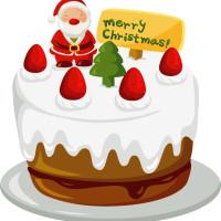 クリスマスイメージchristmascake001